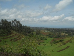 The rich Ethiopian landscape