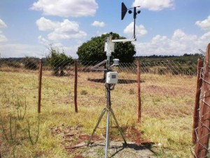 This GCP-funded weather station is at Koibatek Farmers Training Centre, Longisa Division, Bomet County.